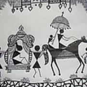 Baraat - The Wedding Procession Art Print