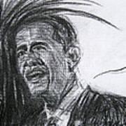 Barack Obama 1 Art Print