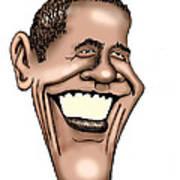 Barack Obama Print by Bill Proctor