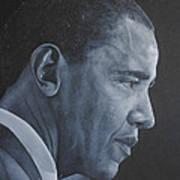Barack Obama Art Print by David Dunne