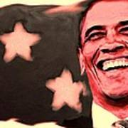 Barak Obama Art Print by Parvez Sayed
