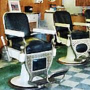 Barber - Corner Barber Shop Art Print