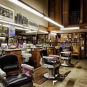 Barber Shop In Montgomery Alabama Art Print