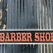 Barber Shop - Photopower Art Print