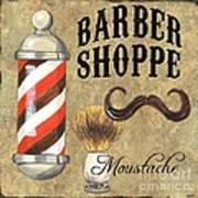 Barber Shoppe 1 Art Print