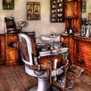 Barber - The Barber Chair Art Print
