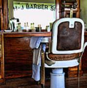 Barber - The Barber Shop Art Print