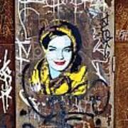 Barcelona Graffiti 3 Art Print