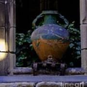 Barcelona Spain Vase Art Print