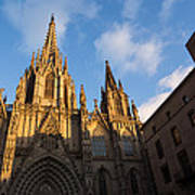 Barcelona's Marvelous Architecture - Cathedral Of The Holy Cross And Saint Eulalia Art Print