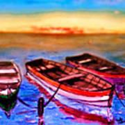 Barche Art Print