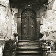 Barga Door Art Print