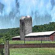 Barn 28 - Featured In Old Buildings And Ruins Group Art Print