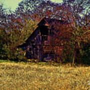 Barn And Diamond Reo-featured In Barns Big And Small Group Art Print
