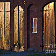 Barn Door Lighting Art Print