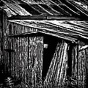 Barn Doors Print by Walt Foegelle