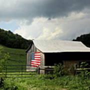 Barn In The Usa Art Print