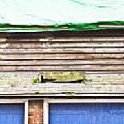 Barn Repairs Art Print