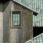 Barn Roofs At The Crane Estate Art Print