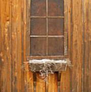 Barn Window 3348 Art Print
