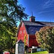 Barn With Out-sheds Brunner Family Farm Art Print