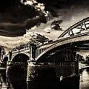 Barnes Rail Bridge Art Print