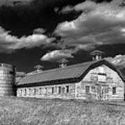 Barns Are Beautiful II Bw Art Print