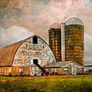 Barns In The Country Art Print
