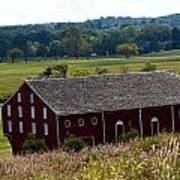 Barns Of Gettysburg 1a Art Print