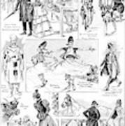 Barnum And Bailey, 1898 Art Print