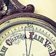 Barometer Print by Tom Gowanlock