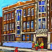 Baron Byng High School 4251 St. Urbain Street Plateau Montreal City  Scene Carole Spandau Montreal A Art Print