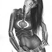 Baroness Print by Pete Tapang