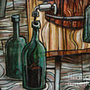 Barrel To Bottle Art Print by Sean Hagan
