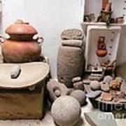 Barriles Pottery Indian Art Print