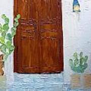 Barrio Doorway Art Print