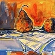 Bartlett Pears Art Print