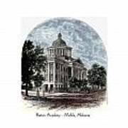 Barton Academy - Mobile Alabama Art Print