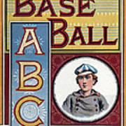 Baseball Abc Art Print by McLoughlin Bros