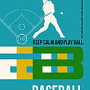Baseball Poster Art Print