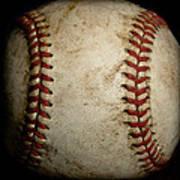 Baseball Seams Art Print