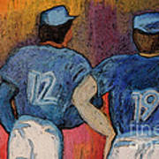 Baseball Team By Jrr  Art Print
