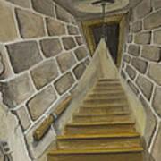 Basement Stairs Art Print