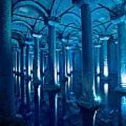 Basilica Cistern - Istanbul - Turkey Art Print