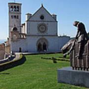 Basilica Di San Francesco - Assisi Art Print