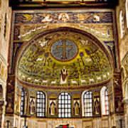 Basilica Di Sant'apollinare Nuovo - Ravenna Italy Art Print