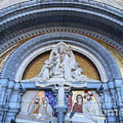 Basilica Of Our Lady Of Lourdes Art Print