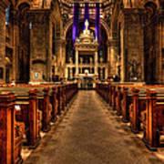 Basilica Of Saint Mary Art Print