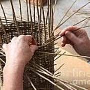Basket Making Art Print