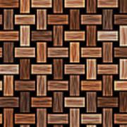 Basket Weaving Art Print